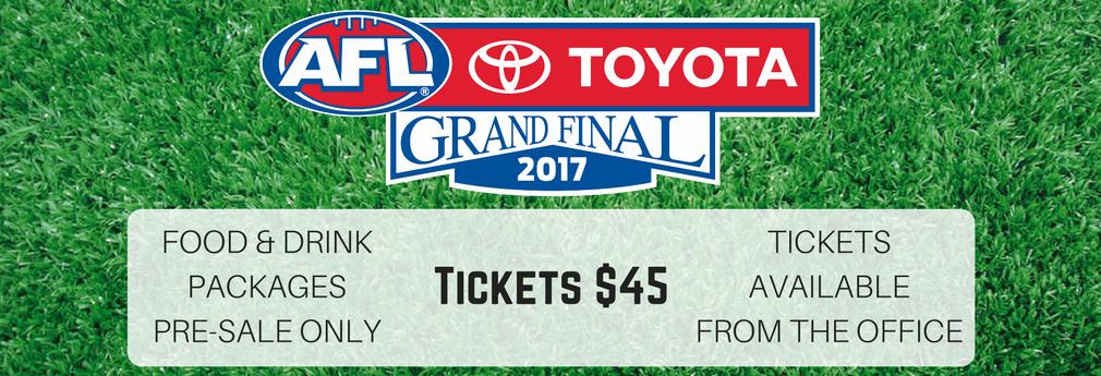 2017 AFL Grand Final Website Banner